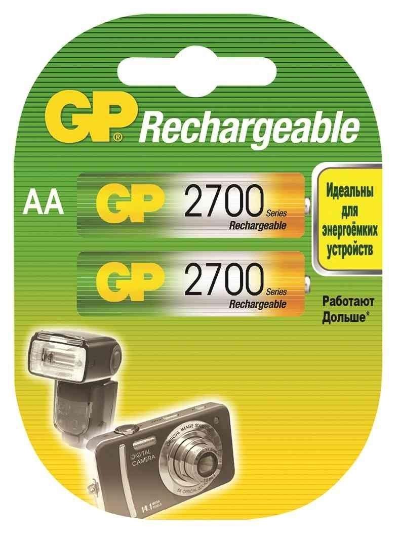 Аккумулятор GP 270AAHC AA NiMH 2700 мАч, 2 шт paradigm h55 r