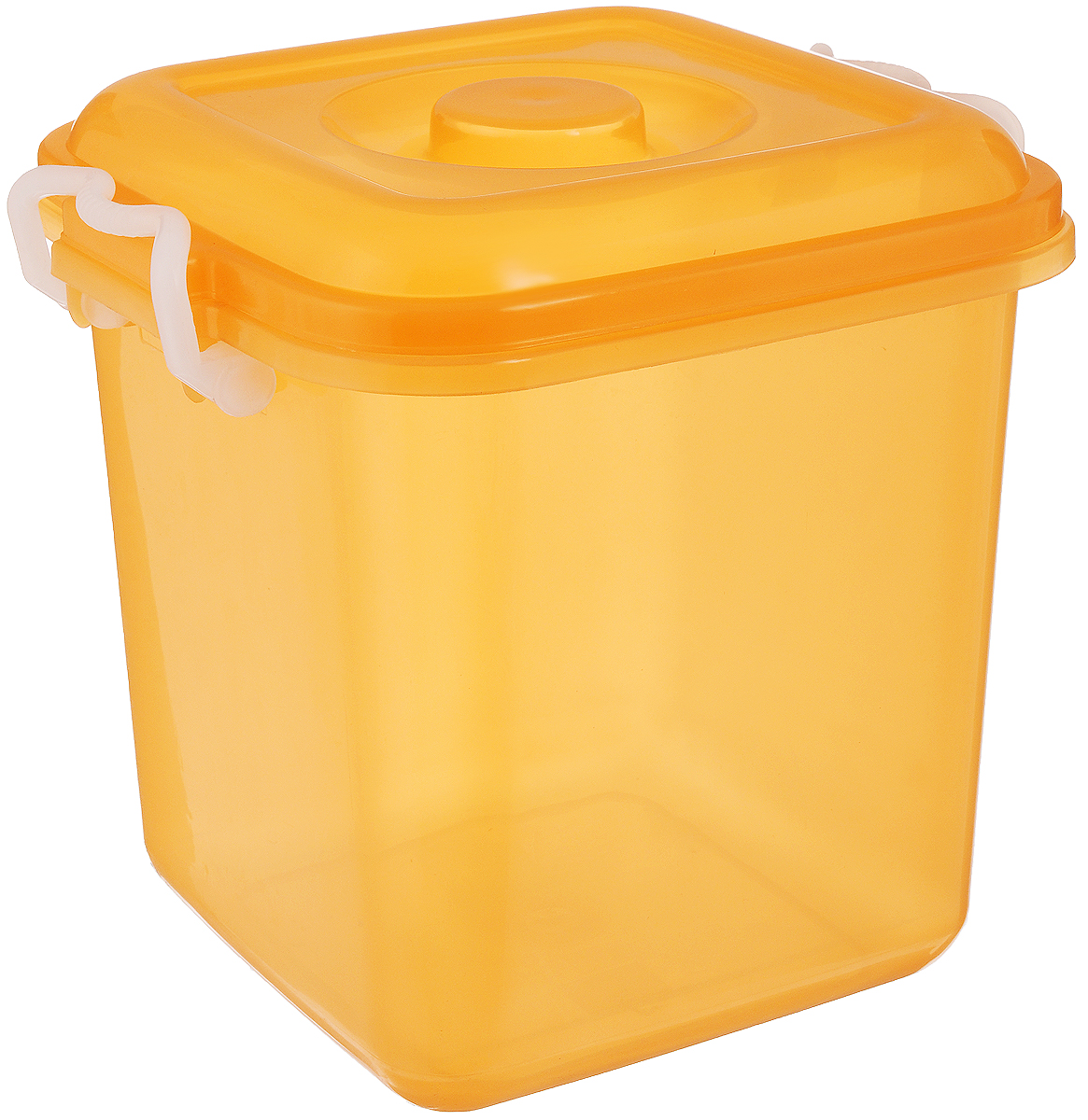 Контейнер для хранения Idea Океаник, цвет: оранжевый, 10 л контейнер для хранения idea океаник цвет голубой 20 л