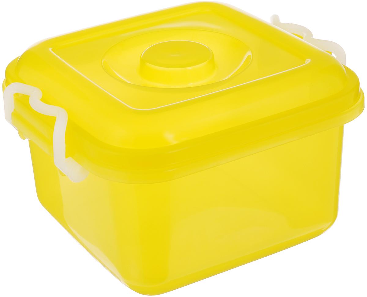 Контейнер для хранения Idea Океаник, цвет: желтый, 6 лМ 2855Контейнер Idea Океаник, выполненный из высококачественного пищевого полипропилена, предназначен для хранения различных вещей. Он снабжен плотно закрывающейся крышкой со специальными боковыми фиксаторами.Вместительный контейнер позволит сохранить ваши вещи в порядке, а герметичная крышка предотвратит случайное открывание, а также защитит содержимое от пыли и грязи.