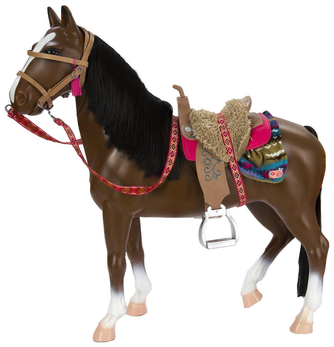 Our Generation Лошадь породы Американская чистокровная с аксессуарами
