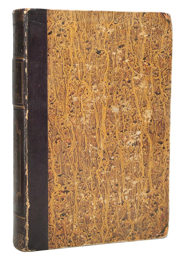 Oeuvres philosophiques, morales et politiques du Francois BaconFILTER 007Париж, 1836 год. Издательство A. Desrez, libraire-editeur. Владельческий переплет с кожаным корешком. Узорный обрез. Сохранность хорошая. Верхняя переплетная крышка отделена от переплета. Вниманию читателей предлагается сборник трудов английского философа, историка и политика Фрэнсиса Бэкона (1561-1626), в переводе на французский язык. Имя Фрэнсиса Бэкона, как политического деятеля, сильно замарано, но слава его, как философа, не пострадала от этого. Все его произведения, начиная с Опытов (Essays) до последних, важнейших трудов его, Нового Органона, изданного в 1620 году, и трактата О достоинстве и приумножении наук, изданного в 1623 году, проникнуты мыслью, что науки должны использоваться на пользу практической жизни. Целью его философских произведений, собрание которых он назвал Великим восстановлением наук, было преобразование научной деятельности и по содержанию, и по методу. Он показал, как обратить науку от пустого занятия бесплодными фантастическими системами к полезному для человеческой жизни реализму. Бэкон говорил, что силы человека соразмерны его знанию; он желал, чтобы наука обогатилась применимыми к житейским делам сведениями, дающими человеку владычество над природой. Во всех произведениях философа неизменно виден очень сильный ум, богатый мыслями, чрезвычайно логичный. Не все его понятия основательны. Недостаток нравственного чувства мешал Бэкону справедливо оценивать возвышенные стремления людей. В естествознании, которое ставил выше всех других отделов науки, он не сделал никаких открытий, но ему принадлежит заслуга приведения всех отраслей знания в систематический порядок. Фрэнсис Бэкон доказывал, что источник всех верных сведений - наблюдение и опыт, за это его и называют отцом новой философии, основывающейся на опыте. Большую часть настоящего сборника занимает собрание философских сочинений Бэкона - Великое восстановление наук. Также в книгу вошли труды, посвященные вопросам
