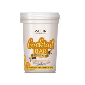 Ollin Крем-кондиционер для волос Медовый коктейль гладкость и эластичность волос Honey Cocktail 500 мл390299Крем-кондиционер Ollin Professional Honey Cocktail для гладкости и эластичности волос. Активные компоненты медового экстракта разглаживают и питают волосы по всей длине, придают естесственный и здоровый блеск. Содержащиеся в составе микроэлементы заполняют повреждения и неровности, придавая волосам объем и силу.