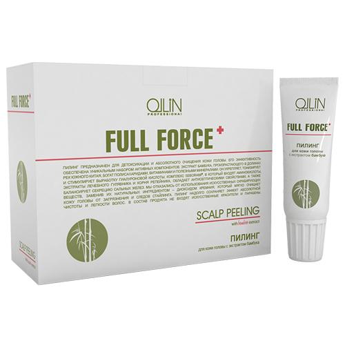 Ollin Пилинг для кожи головы с экстрактом бамбука Full Force Scalp Peeling 10шт х 15мл721296Пилинг предназначен для детоксикации и глубокого очищения кожи головы. Экстракт бамбука укрепляет и тонизирует. Комплекс Seborami® обладает антисептическими свойствами и балансирует секрецию сальных желез. Диоксид кремния мягко очищает кожу головы от загрязнения и следов стайлинга. Пилинг надолго сохраняет эффект абсолютной чистоты и легкости волос. Без искусственных скрабирующих веществ. Без искусственных красителей. Без парабенов.