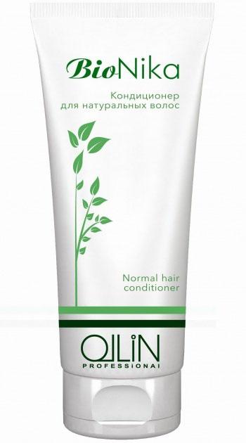 Ollin Кондиционер для натуральных волос BioNika Normal Hair Conditioner 200 мл кондиционеры для волос ollin professional кондиционер для гладкости волос 300 мл