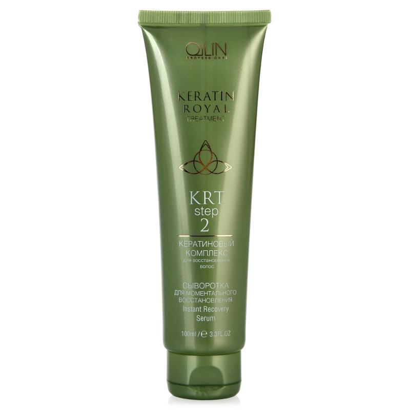 Ollin Сыворотка для моментального восстановления Keratine Royal Treatment Serum 100 мл спрей ollin professional step 4 keratine royal treatment