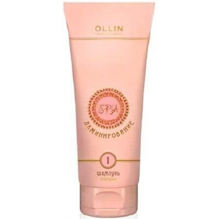 Ollin Spa-ламинирование Ламинирующий шампунь Шаг 1 Laminating Shampoo. Step 1 250 мл728714Деликатный восстанавливающий шампунь с гидролизованным кератином мягко очищает волосы и кожу головы.Предназначен для подготовки длинных, химически завитых, пористых и обесцвеченных волос к дальнейшей процедуре ламинирования. Обеспечивает защиту плотности волос во время мытья и способствует лёгкому расчесыванию.Активные компоненты:Гидролизованный кератин.Очищающие компоненты.