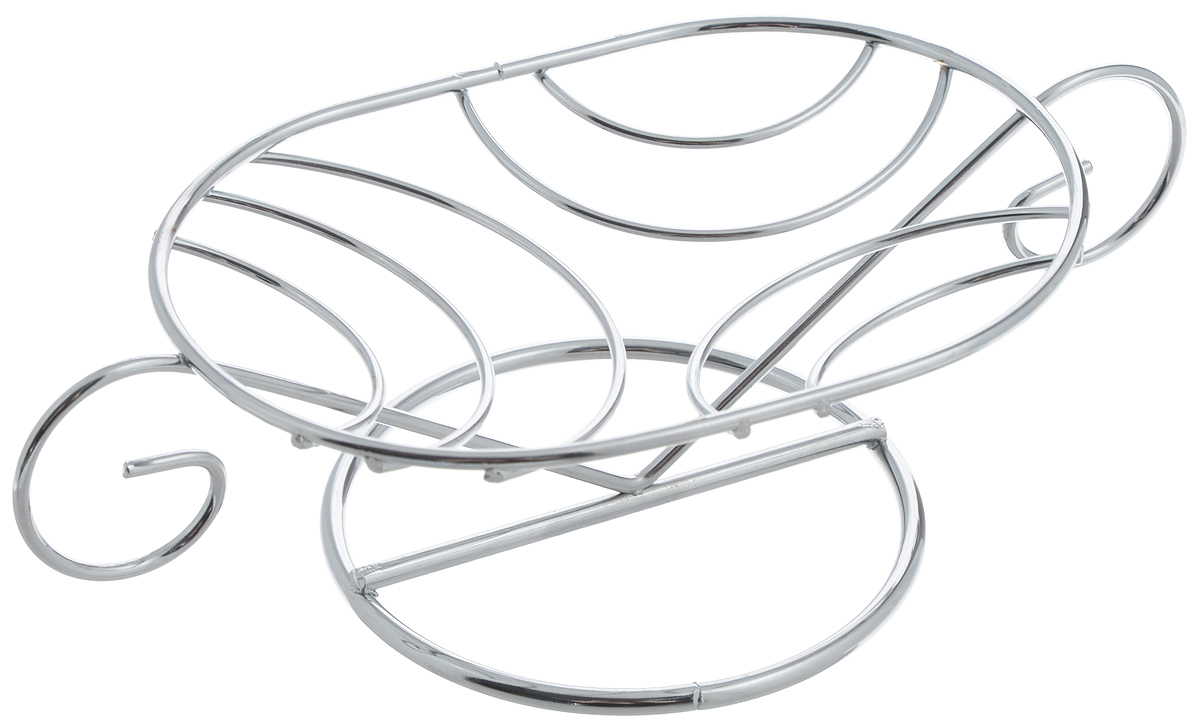 """Настольная мыльница """"Mayer & Boch"""" выполнена из хромированной углеродистой стали, удобное круглое основание придает ей устойчивость, а широкая верхняя поверхность позволяет положить в нее мыло различного размера. За счет хромоникелевого покрытия, изделие не будет ржаветь в условиях повышенной влажности, кроме того, гладкая поверхность покрытия обеспечит легкое мытье. Такая изящная мыльница прекрасно впишется в любой интерьер ванной комнаты или кухни. Размер подставки для мыла: 13 х 9 см. Общий размер мыльницы: 18 х 9 х 5 см."""
