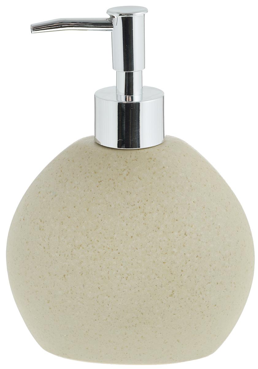 Диспенсер для жидкого мыла Aqua Line Дюна1305218Диспенсер для жидкого мылаAqua Line Дюнаизготовлен из высококачественного фарфора. Носик выполнен из прочного ABS-пластика с хромированнымпокрытием.Диспенсер очень удобен в использовании: простонадавите сверху, и из диспенсера выльетсянеобходимое количество мыла. Диспенсер для жидкого мыла Aqua Line Дюна стильно украсит интерьер,а также добавит в обычную обстановку модный акцент.