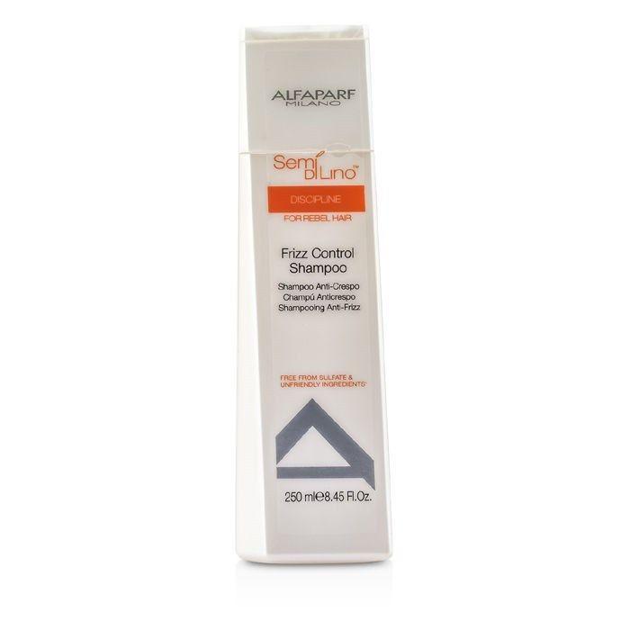 Alfaparf Разглаживающий шампунь для непослушных волос Semi Di Lino Discipline Frizz Control Shampoo 250 мл alfaparf кондиционер для прикорневого объема semi di lino volume magnifying conditioner 250 мл