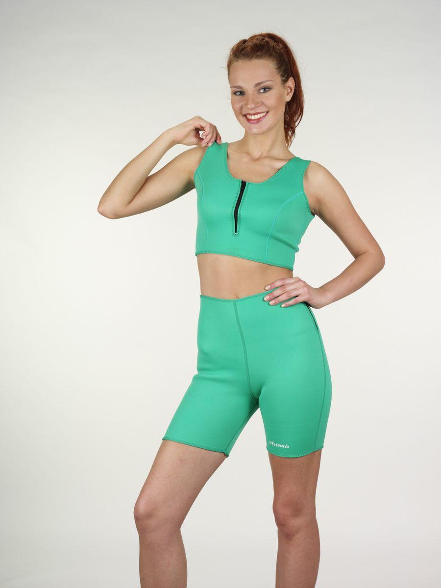 Комплект одежды женский: шорты, топик Artemis, цвет: папоротниковый. 01001042. Размер M (44-46) artemis hb