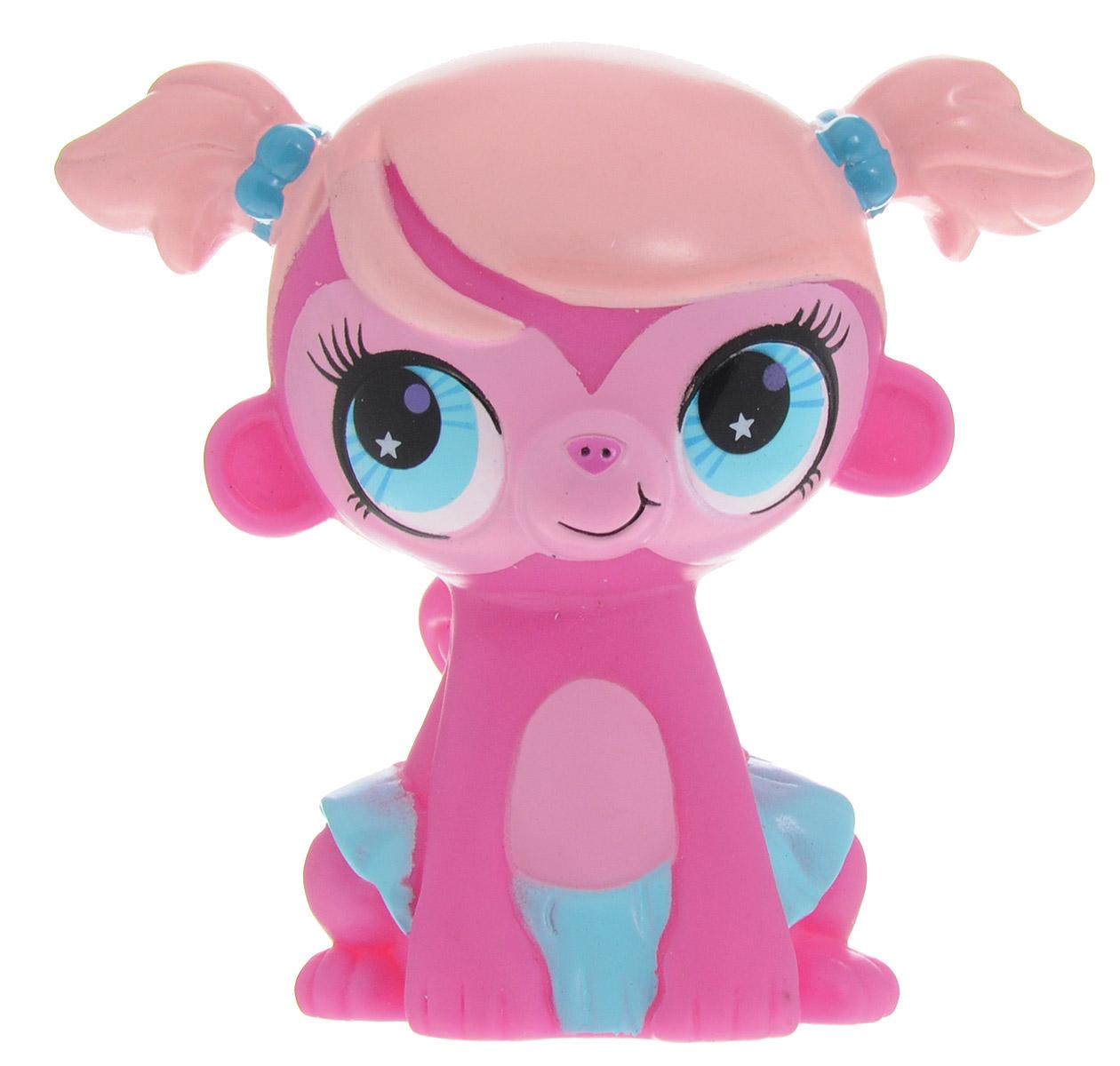 Играем вместе Фигурка для ванной Littlest Рet Shop Обезьянка игровые наборы littlest pet shop стильный зоомагазин