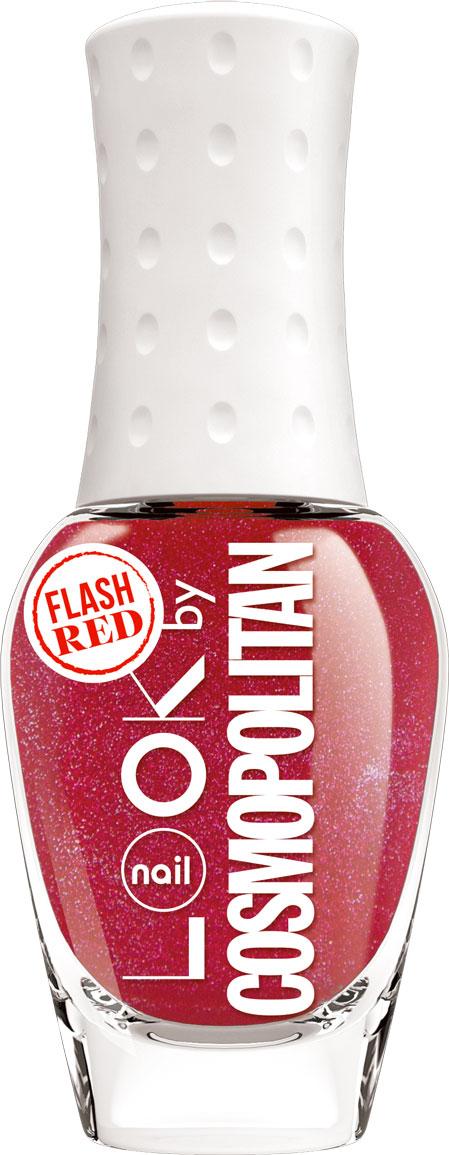 nailLOOK Лак для ногтей серии Trends look by Cosmopolitan, Flash Red, 8,5 мл31445Эксклюзивная коллекция из 7 потрясающих оттенков разработанных совместно с популярным глянцевым журналом. Вся красота и изящество оттенка раскрываются при нанесении. Мелкие скрытые шиммеры почти не заметны на ногтях,но при высыхании они образуют глянцеый металлический эффект и обеспечивают дополнительную стойкость. Красный оттенок с серебрянным шиммером.