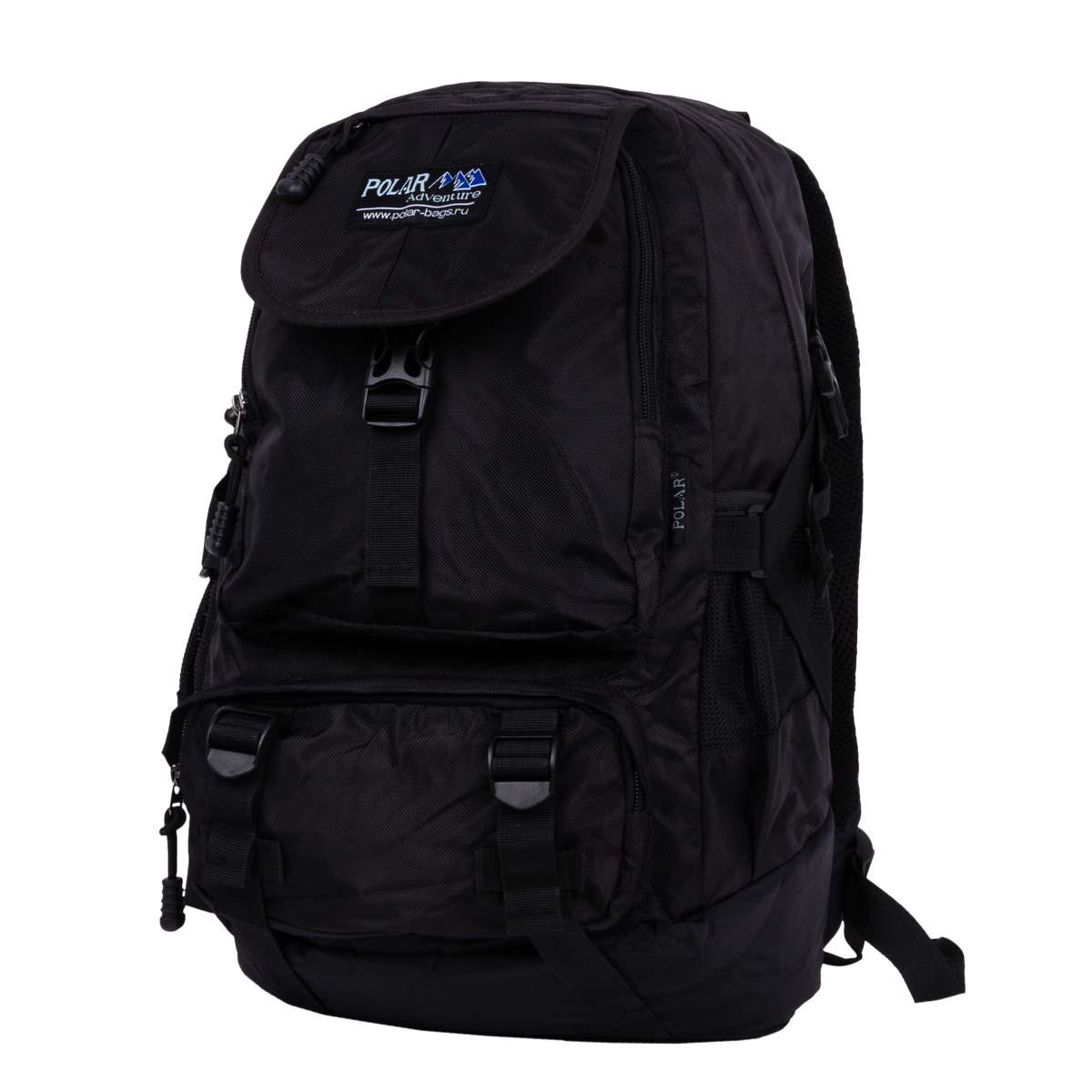 Рюкзак городской Polar, 24 л, цвет: черный. 2810-05 рюкзак polar polar po001buawne5