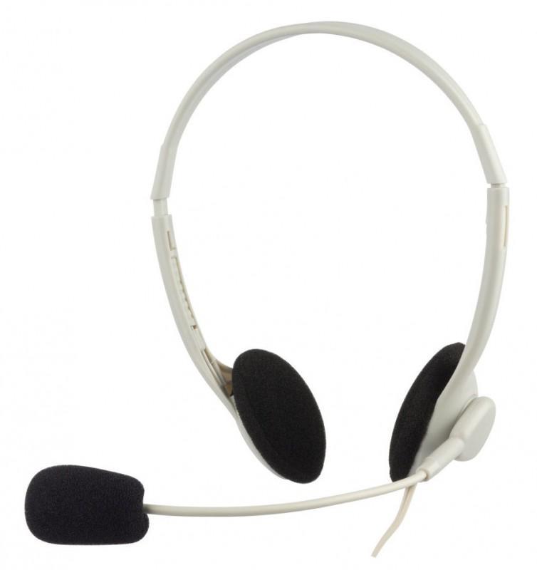 Наушники с микрофоном Oklick HS-M143VW, White614037Неодимовые динамики обеспечивают мощное насыщенное звучаниеВсенаправленный микрофон улавливает голоса с любого направленияПоворотный микрофон можно расположить слева или справа от головыНастраиваемое оголовье и мягкие амбушюры наушников.Тип разъема: 2x mini-Jack (3.5mm).
