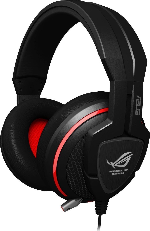Игровая гарнитура ASUS Orion, Black Red tritton ark 100 stereo headset black игровые наушники для ps 4