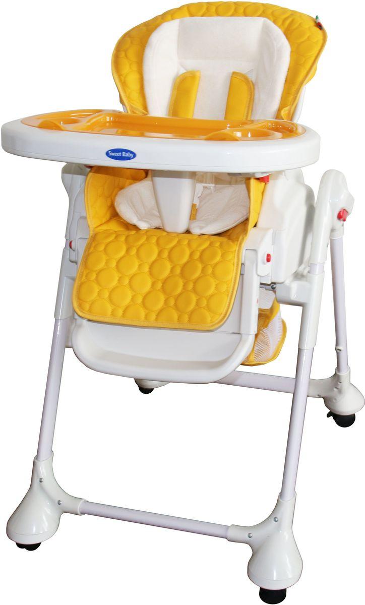 Sweet Baby Стульчик для кормления Luxor Classic Arancione ресницы white affectivity fan