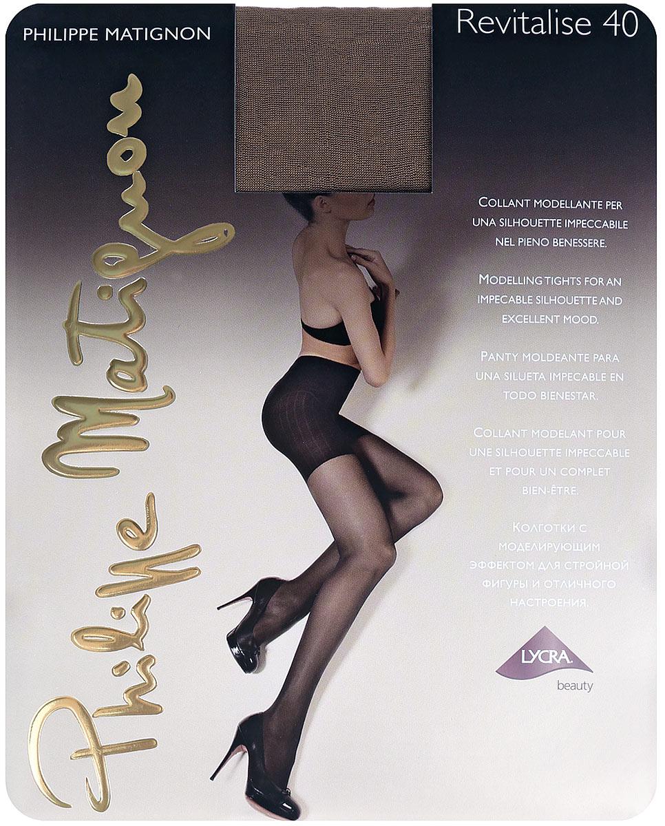 Колготки Philippe Matignon Revitalise 40. The (светло-коричневый). Размер M (3) люсеро колготки с микрокапсулами моделирующие р s m черные