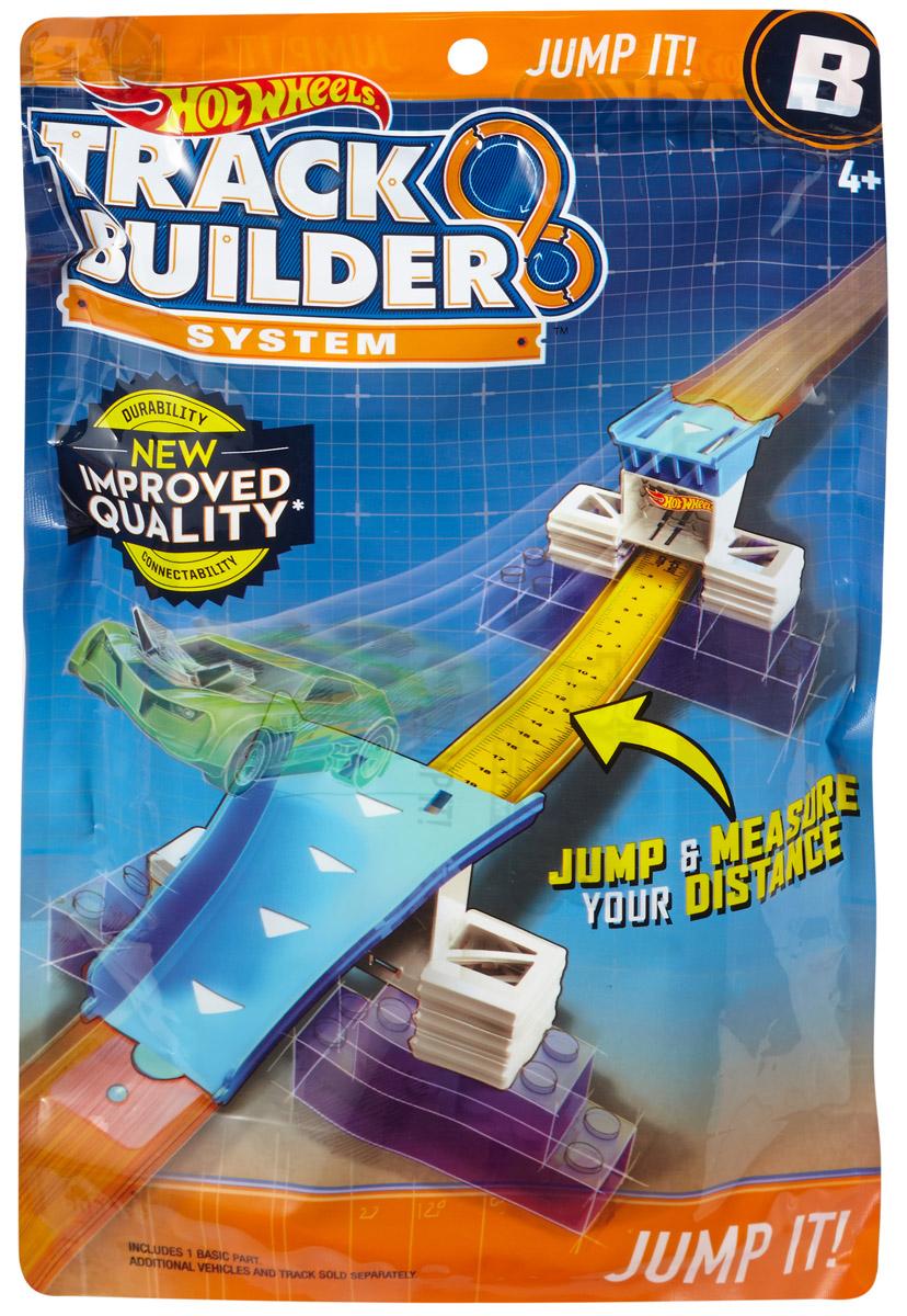 Hot Wheels Track Builder Дополнительный блок для конструктора трасс Jump It hot wheels track builder игрушечный трек стартовый набор для трюков