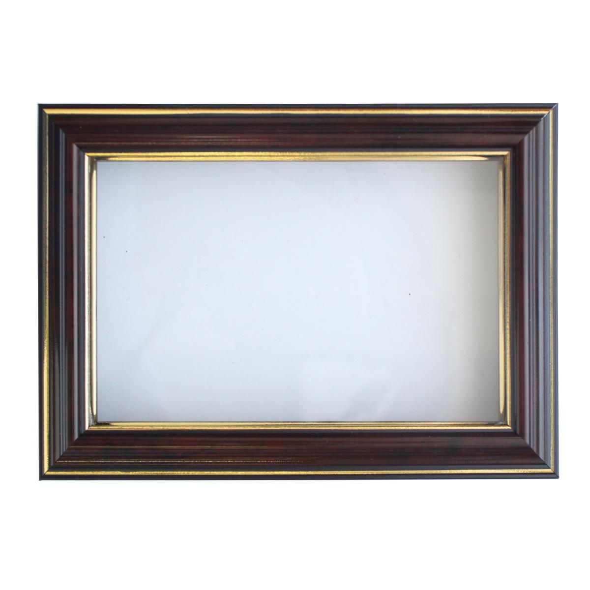 Рама (аквариум) глубокий багет со стеклом с прозрачным дном, цвет: яшма, 10х15 см. RAM111009498373Рамы предназначены для оформления картин, фотографий. Обрамленные такой рамкой работы, сразу же преображаются и приобретают завершенный вид.