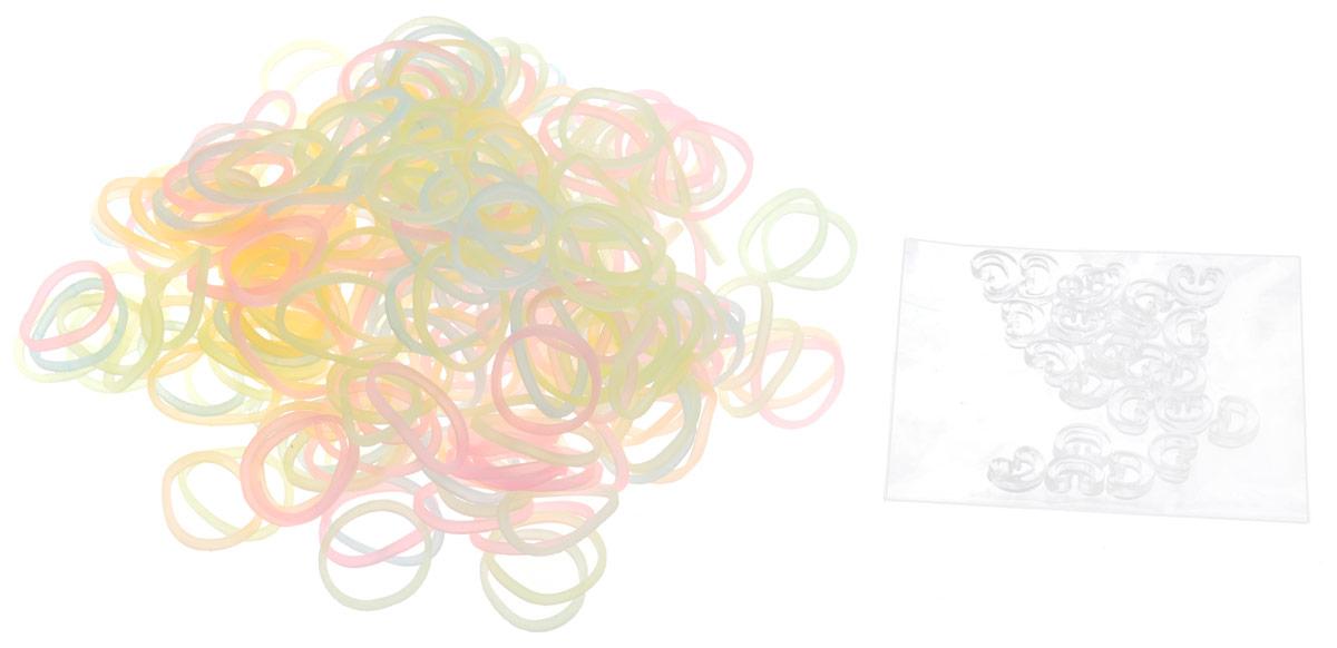Rainbow Loom Набор резиночек Leuchtend Mix 600 шт