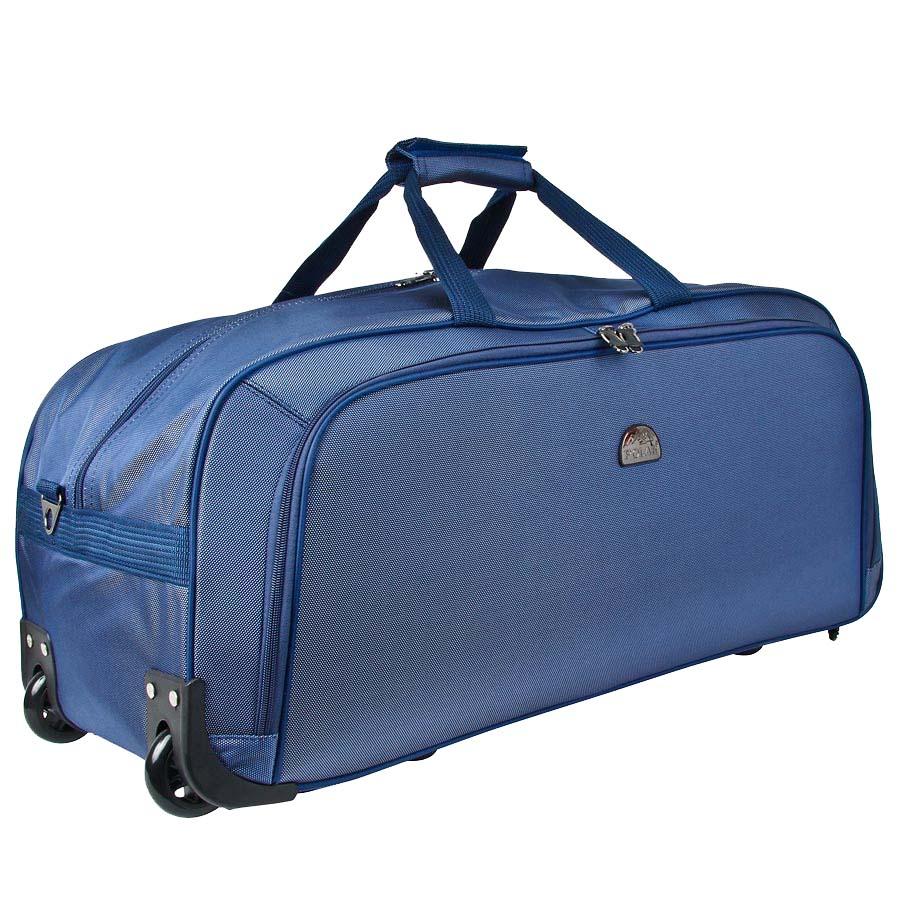 Сумка дорожная Polar, цвет: синий, 72 л. 7022.57022.5Дорожная сумка Polar выполнена из материала - кордура. Модель на двух пластиковых колесах с выдвижной ручкой и внутренней тележкой. Сумка имеет большое отделение и карман для мелких вещей. В комплект входит съемный плечевой ремень. Такая сумка - очень удобный и практичный вариант для всего самого необходимого.