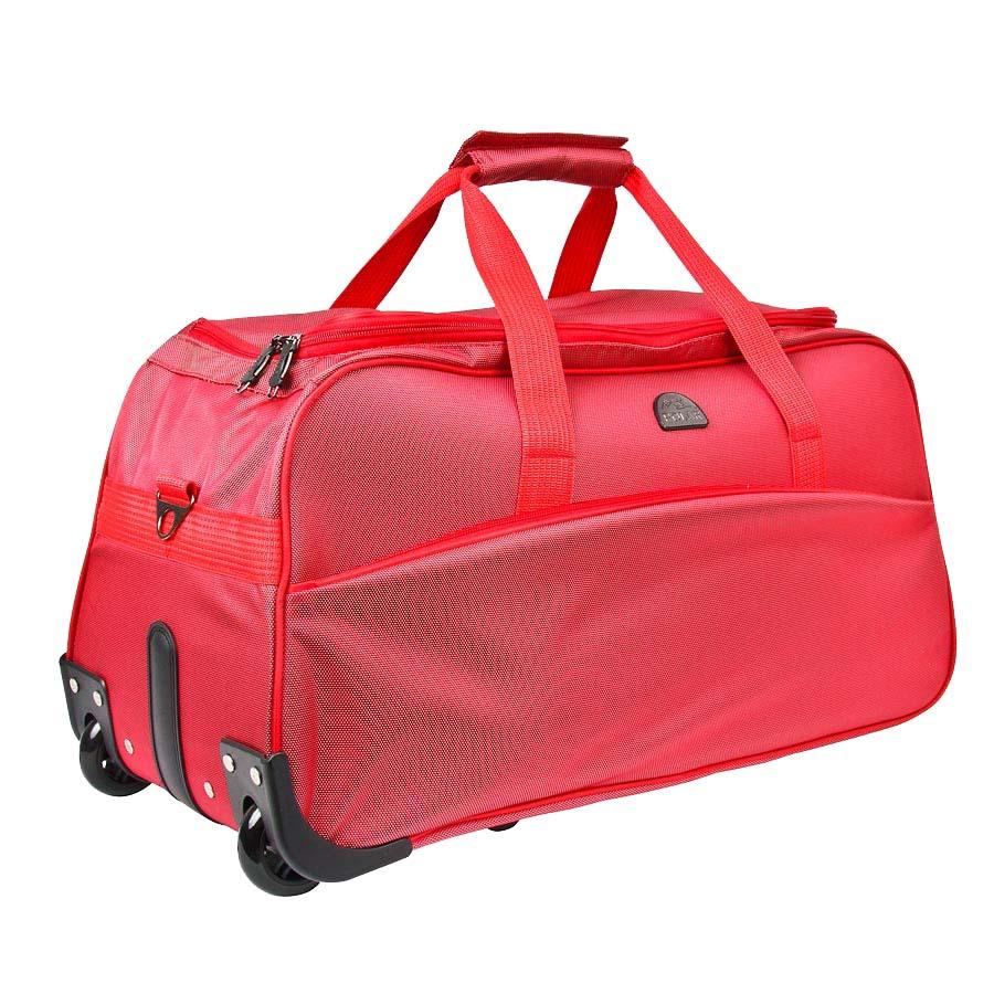 Сумка дорожная на колесах Polar, 58 л, цвет: красный. 7025.5 рюкзак polar polar po001buawne5