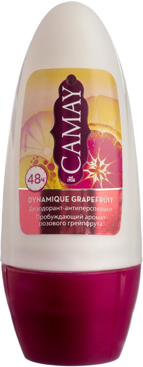 CAMAY Дезодорант-антиперспирант ролик Динамик 50мл camay дезодорант антиперспирант стик динамик 40мл
