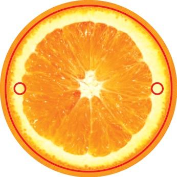 Гирлянда Апельсин. Авторская работаГИРЛЯНДА АПЕЛЬСИННарядная и вкусная гирлянда в виде 9 апельсиновых долек на ленточке