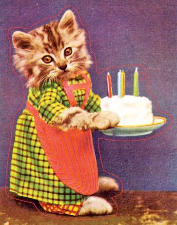 Гирлянда Кошка. Авторская работаN180416Нарядная гирлянда в виде 9 котят на ленточке