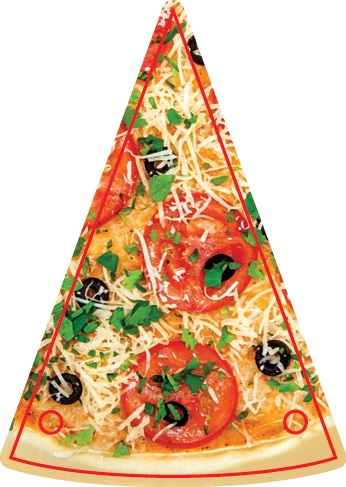 Гирлянда Пицца. Авторская работа