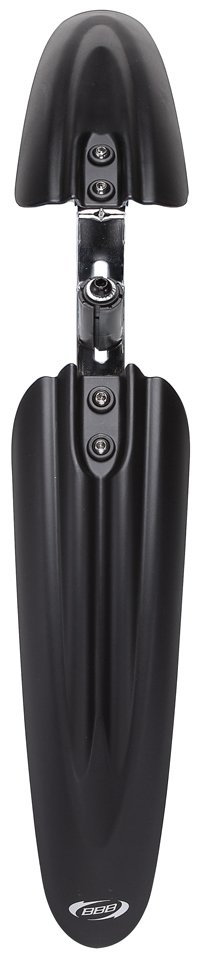 """Быстросъемное переднее крыло BBB """"HighProtector II"""" предназначено для байков участвующих во фрирайде и даунхиле. Устанавливается в нижнее отверстие """"стакана"""". Крыло обеспечит защиту байкера в любой """"грязевой ванне"""".    Гид по велоаксессуарам. Статья OZON Гид"""