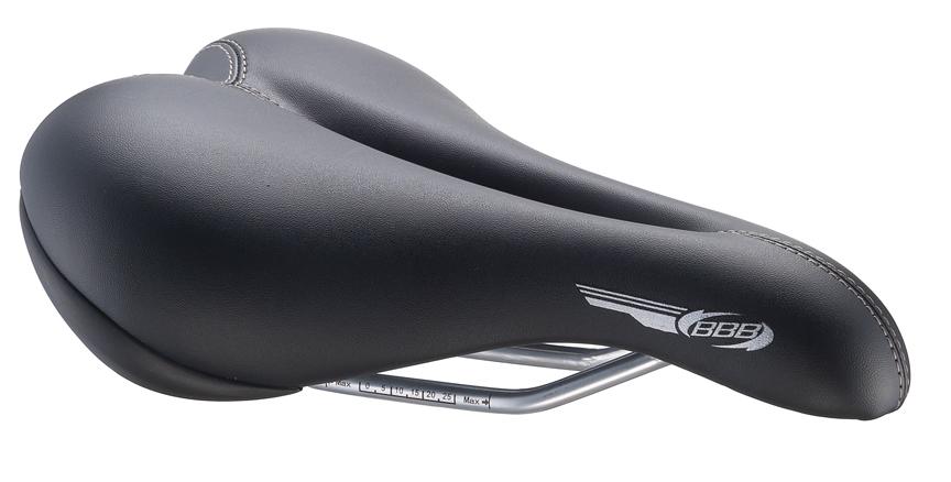 Седло женское спортивное BBB SmoothDensity. BSD-15BSD-15Роскошное спортивное седло с покрытием из двухцветной искусственной кожи.Размер: 170 мм x 250 мм