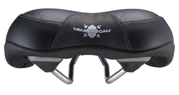 """Удобное спортивное седло BBB """"MemoComfort"""" имеет анатомический дизайн. Технология двойной плотности. Мягкая пена с эффектом памяти адаптируется к человеческому телу и поглощает вибрацию от дороги. Верх седла выполнен из синтетики. Размер: 180 х 250 мм."""