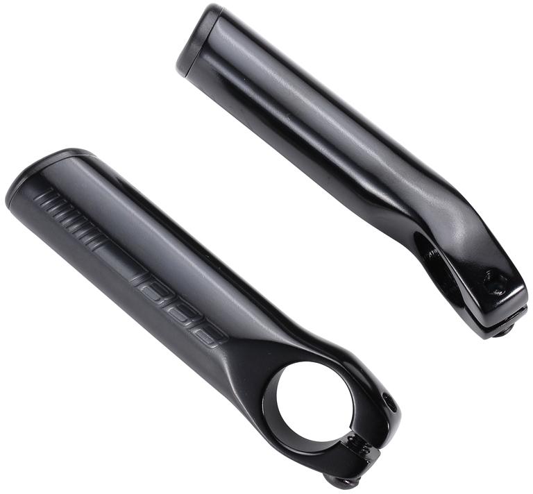 Рога на руль BBB LightStraight, цвет: черный, 9,5 см, 2 шт