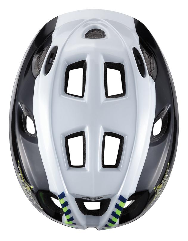 Легкий и надежный велосипедный шлем для детей. 12 вентиляционных отверстий. Защитная сетка от насекомых. Регулируемые ремни для идеальной посадки. Удобная регулировка TwistClose системы, можно регулировать одной рукой. Моющиеся антибактериальные колодки. Светоотражающие элементы сзади.