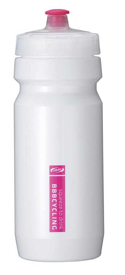 Бутылка для воды BBB CompTank, велосипедная, цвет: белый, пурпурный, 550 млBWB-01Бутылка для воды BBB CompTank изготовлена из высококачественного полипропилена, безопасного для здоровья. Закручивающаяся крышка с герметичным клапаном для питья обеспечивает защиту от проливания. Оптимальный объем бутылки позволяет взять небольшую порцию напитка. Она легко помещается в сумке или рюкзаке и всегда будет под рукой. Такая идеальная бутылка небольшого размера, но отличной вместимости наполняет оптимизмом, даря заряд позитива и хорошего настроения. Бутылка для воды - отличное решение для прогулки, пикника, автомобильной поездки, занятий спортом и фитнесом. Высота бутылки (с учетом крышки): 21 см.Диаметр по верхнему краю: 5,5 см.Диаметр основания: 6,5 см.