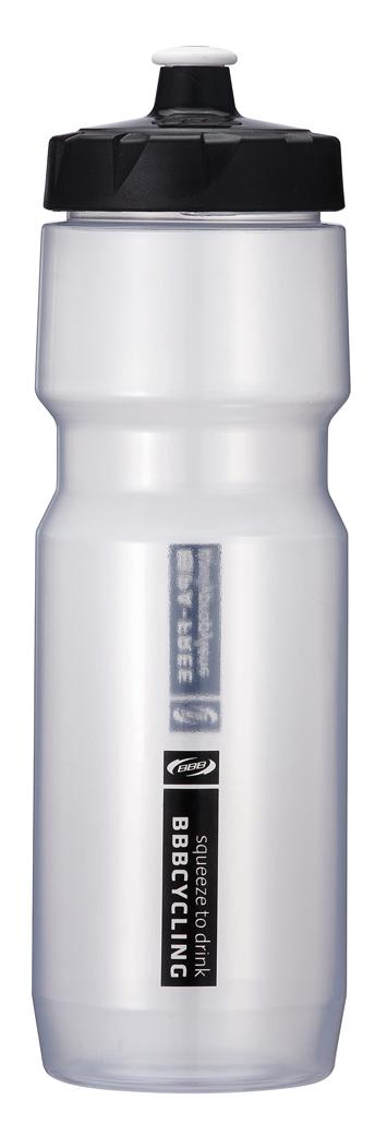 Бутылка для воды BBB CompTank, велосипедная, цвет: прозрачный, черный, 750 млBWB-05Бутылка для воды BBB CompTank изготовлена из высококачественного полипропилена, безопасного для здоровья. Закручивающаяся крышка с герметичным клапаном для питья обеспечивает защиту от проливания. Оптимальный объем бутылки позволяет взять небольшую порцию напитка. Она легко помещается в сумке или рюкзаке и всегда будет под рукой. Такая идеальная бутылка небольшого размера, но отличной вместимости наполняет оптимизмом, даря заряд позитива и хорошего настроения. Бутылка для воды BBB - отличное решение для прогулки, пикника, автомобильной поездки, занятий спортом и фитнесом.