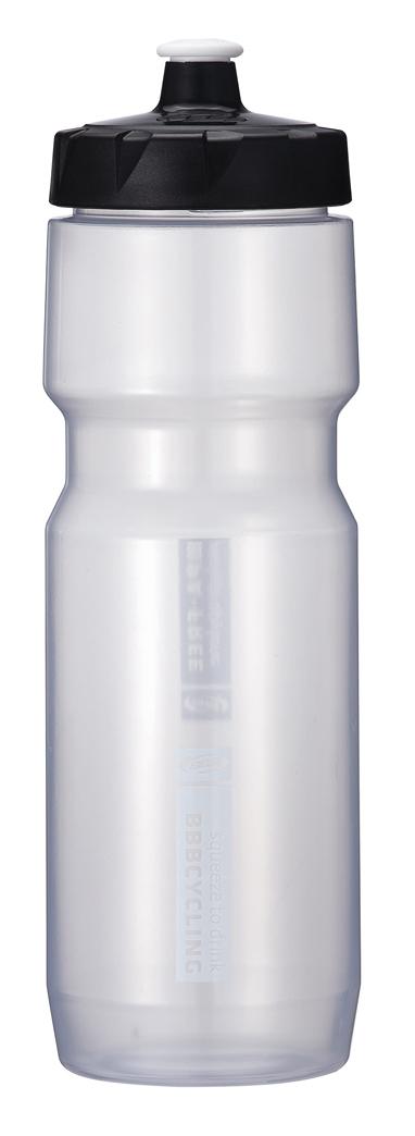 Бутылка для воды BBB CompTank, велосипедная, цвет: прозрачный, белый, 750 мл бутылка для воды sistema hydrate трио цвет фиолетовый 480 мл 820