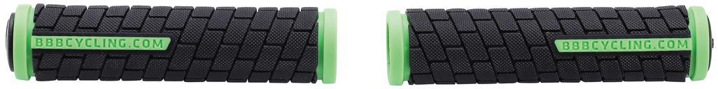 """Грипсы BBB """"DualGrip"""" выполнены из мягкой двухкомпонентной резины. Рельефная текстура обеспечивает отличное сцепление. Грипсы предназначены для более удобного управления велосипедом.  Две заглушки для руля в комплекте.Длина грипс: 12,5 см.  Гид по велоаксессуарам. Статья OZON Гид"""