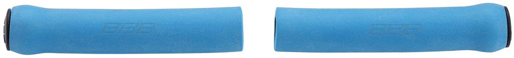 """Легкие и комфортные грипсы BBB """"Sticky"""" имеют вибро- и ударопоглощающими свойства. Они предназначены для более удобного управления велосипедом. Силиконовое покрытие обеспечивает прекрасное сцепление с перчатками.   Заглушки руля в комплекте.    Длина грипс: 13 см.   Вес: 49 г.    Гид по велоаксессуарам. Статья OZON Гид"""