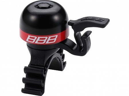 Звонок BBB MiniFit, цвет: черный, красный. BBB-16