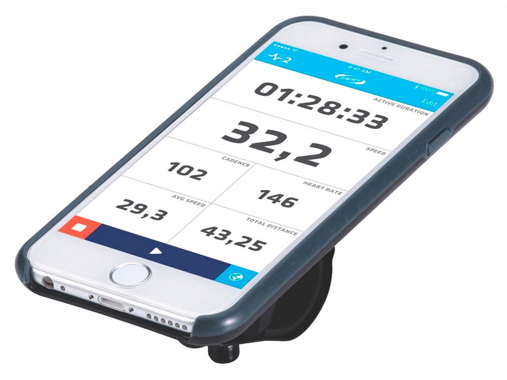 """Превратите ваш iPhone 6 или iPhone 6S в высокотехнологичный велокомпьютер (смартфоны в комплект не входят. iPhone - это торговая марка Apple Inc., зарегистрированная в США и других странах). Тонкий чехол на каждый день. Монолитный дизайн для лучшей защиты. Внешняя оболочка из устойчивого к ударам и падениям поликарбоната. Произведено в сотрудничестве с TRP в целях снижения ударов и вибраций. Опциональный дождевик в комплекте. Полная совместимость с iPhone. Устанавливается как в """"портретном"""" формате, так и в """"ландшафтном"""". Регулируемый угол установки для оптимальных возможностей по съемке. Устанавливается на вынос, или руль при помощи включенного крепления BSM-91 PhoneFix. Устанавливается на крышке выноса с помощью BSM-92 SpacerFix (в комплекте). Вес: 69 грамм без хомутов.    Гид по велоаксессуарам. Статья OZON Гид"""