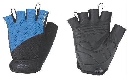 Перчатки велосипедные BBB Chase, цвет: черный, синий. BBW-49. Размер XXLBBW-49Комфортные летние перчатки BBB Chase предназначены для более удобного катания на велосипеде. Максимальная вентиляция обеспечивается за счет тыльной стороны перчаток, выполненной из сетчатого материала. Также имеется вставка для удаления влагии пота. Ладонь из материала Serino с гелевыми вставками для большего комфорта. Застежки велкро (Система WristLock) надежно фиксируют перчатки на руке.Гид по велоаксессуарам. Статья OZON Гид