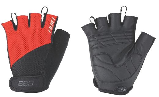 Перчатки велосипедные BBB Chase, цвет: черный, красный. BBW-49. Размер XXL
