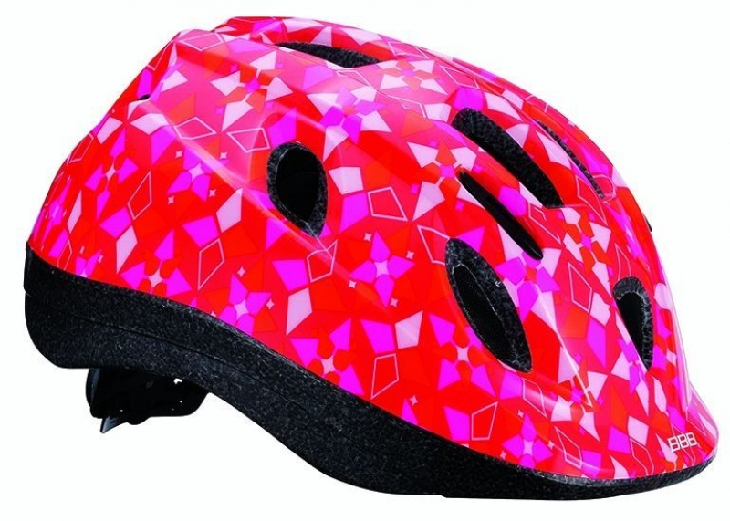 Шлем летний BBB Boogy Sweet. Размер M (52-56 см)BHE-37Легкий и надежный велосипедный шлем BBB Boogy Sweet предназначен для детей. Имеет 12 вентиляционных отверстий, обеспечивающих комфорт во время ношения. Встроенная сетка защищает ребенка от насекомых. Регулируемые ремни обеспечивают шлему идеальную посадку. Удобная регулировка TwistClose системы, можно регулировать одной рукой. Шлем оснащен моющимися антибактериальными колодками. Светоотражающие элементы сзади обеспечивают безопасность на дороге.Обхват головы: 52-56 см.