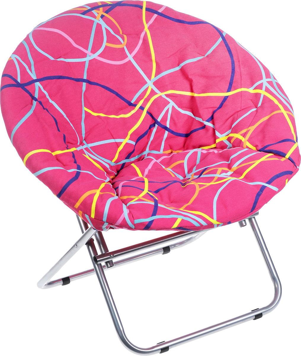 Кресло садовое Wildman, со съемным чехлом, 77 х 64 х 80 см81-452Внешне кресло Wildman не отличается от обыкновенного кресла. На нем можно удобно расположиться в тени деревьев, отдохнуть в приятной прохладе летнего вечера. Каркас кресла выполнен из прочного металла, а чехол, который при необходимости можно снять, из текстиля.В использовании садовое кресло достойно самых лучших похвал. Его очень легко перенести в другое место. Во время летних праздников, пикников, семейных встреч садовое кресло решит проблемы с размещением гостей.