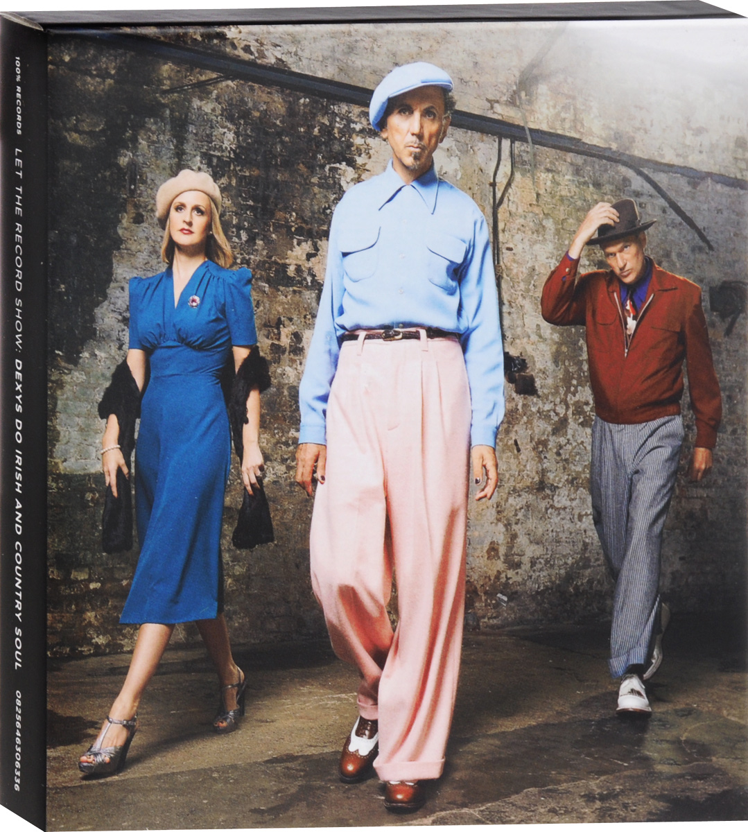 "Диск DVD содержит: ""Let The Record Show: Dexys Do Irish And Country Soul""."
