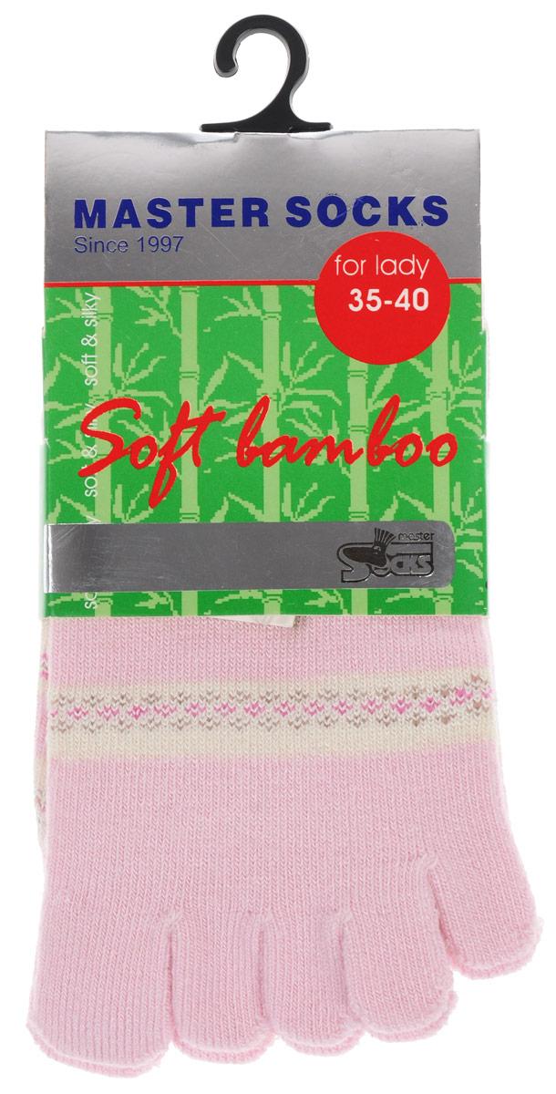 Носки женские Master Socks, цвет: розовый. 85680. Размер 23/25