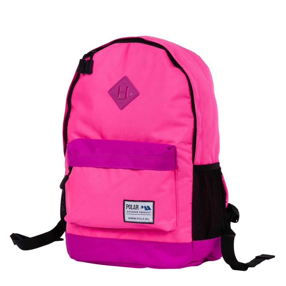 Рюкзак городской Polar, цвет: розовый, 22,5 л. 15008 рюкзак polar polar po001buawnb0