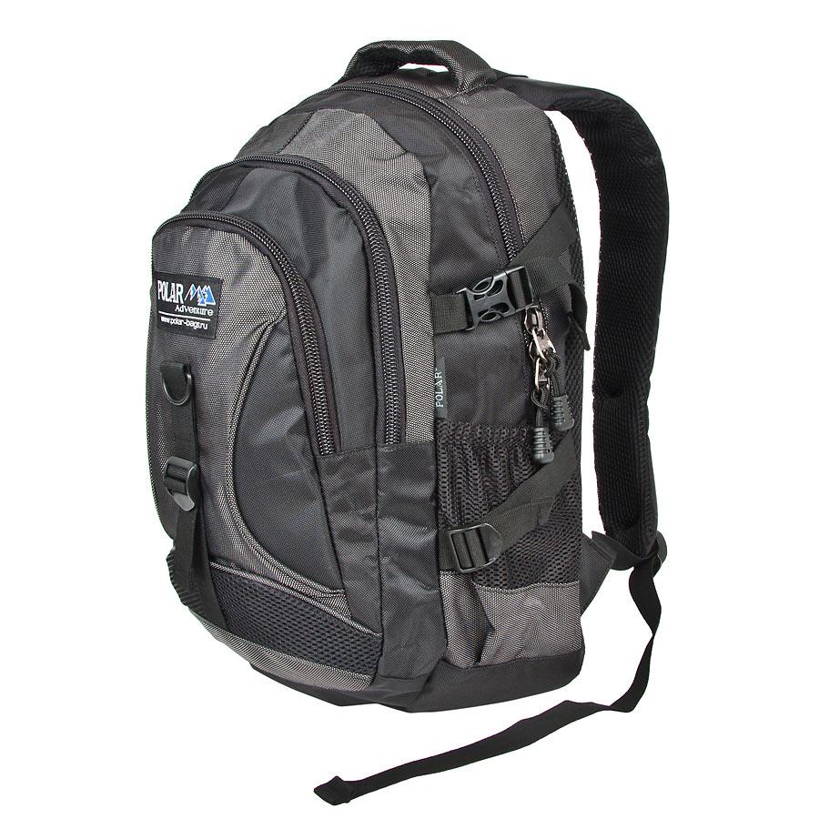 Рюкзак городской Polar, цвет: черный, 18 л. 38099-05